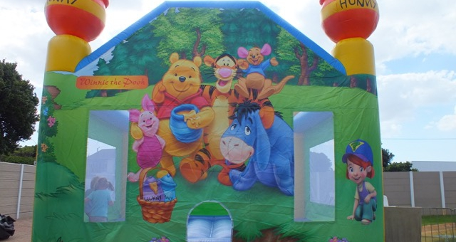 Winnie the Pooh castle